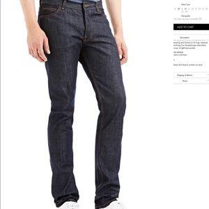 LNWOT Surface to Air V1 Dark Blue Slim Jeans 30x32
